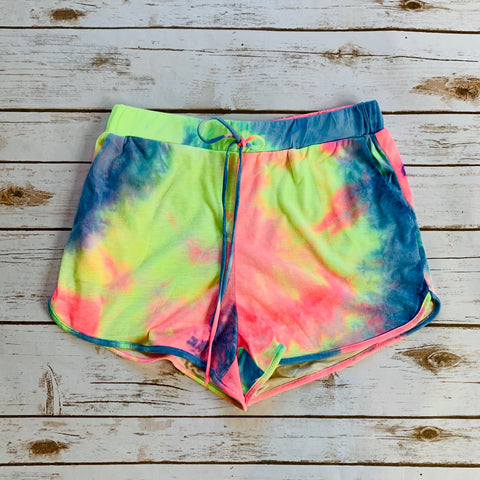 Tie Dye Brief Shorts - Why Not Boutique