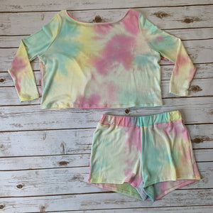 Tie Dye Lounge Set - Why Not Boutique