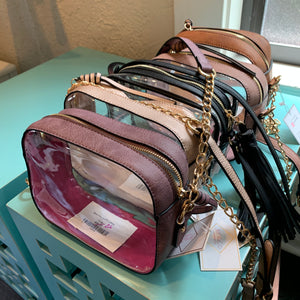 Malia Clear Box Crossbody - Why Not Boutique