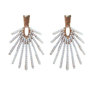 Sunburst Pearl Drops - Why Not Boutique Tampa