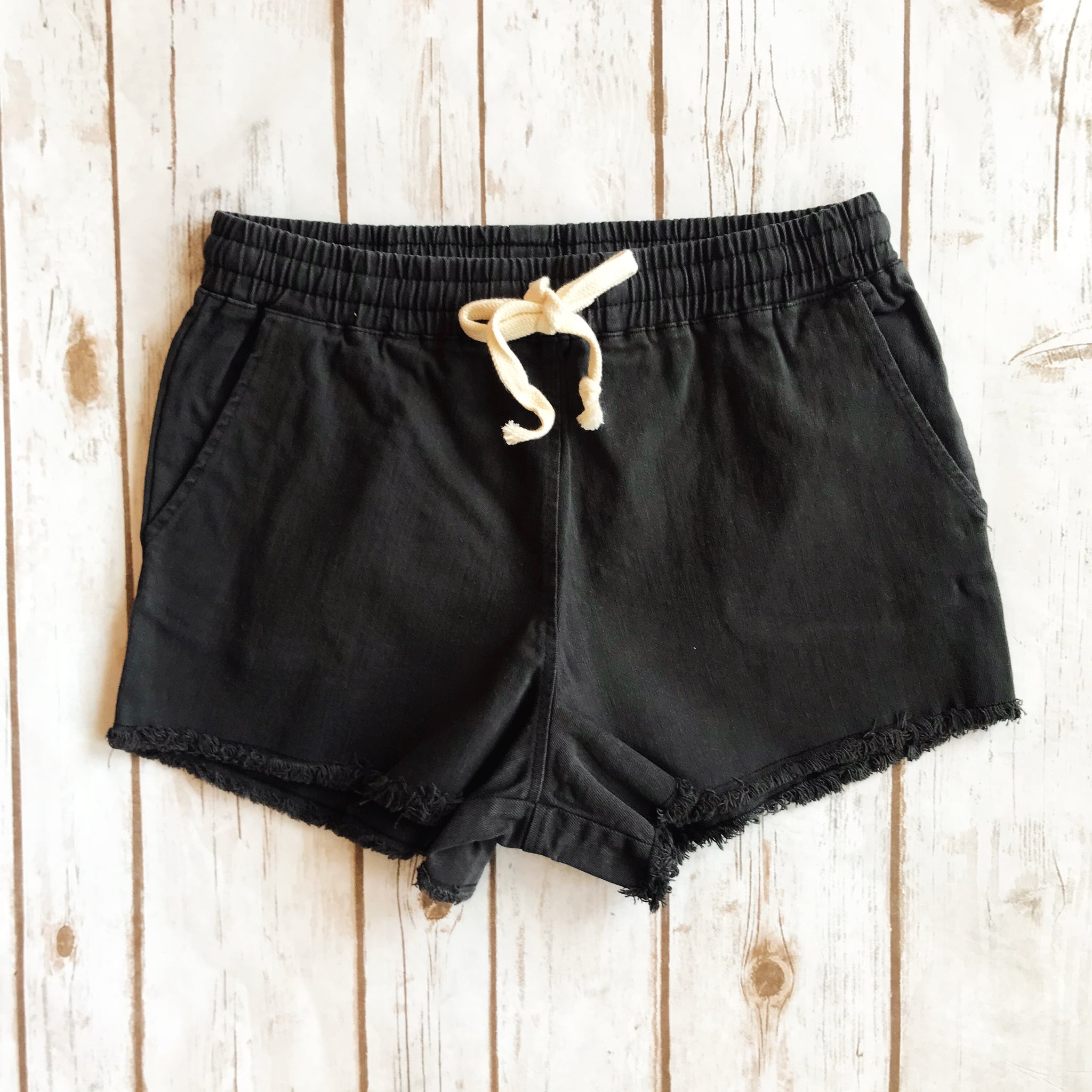 Raw Hem Shorts - Why Not Boutique