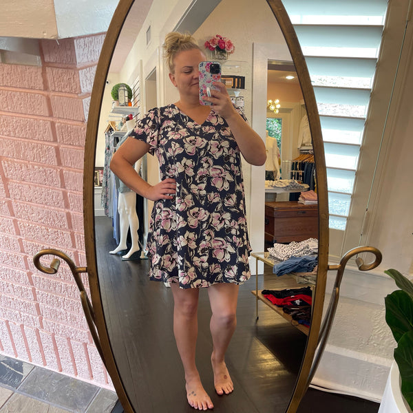Rebecca Floral Shift Dress