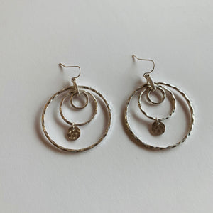 Reine Layered Hoop Earrings - Why Not Boutique