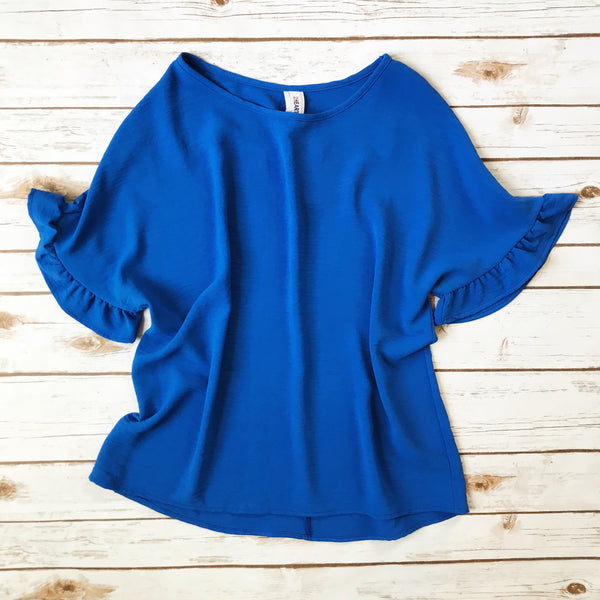 Dolman Sleeve Top - Why Not Boutique