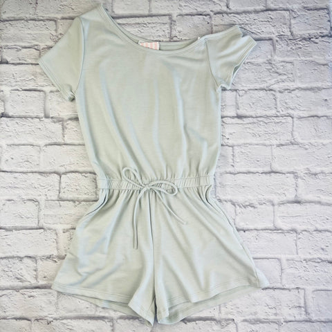 Leslie One Shoulder Romper