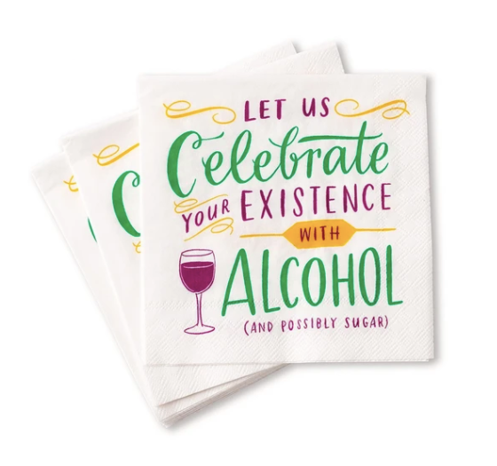 Cocktail Napkins - Why Not Boutique