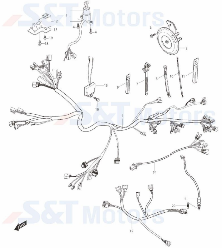 hyosung gv250 wiring diagram explained wiring diagrams rh dmdelectro co 50Cc Scooter Wiring Diagram Scooter Cdi Wiring Diagram