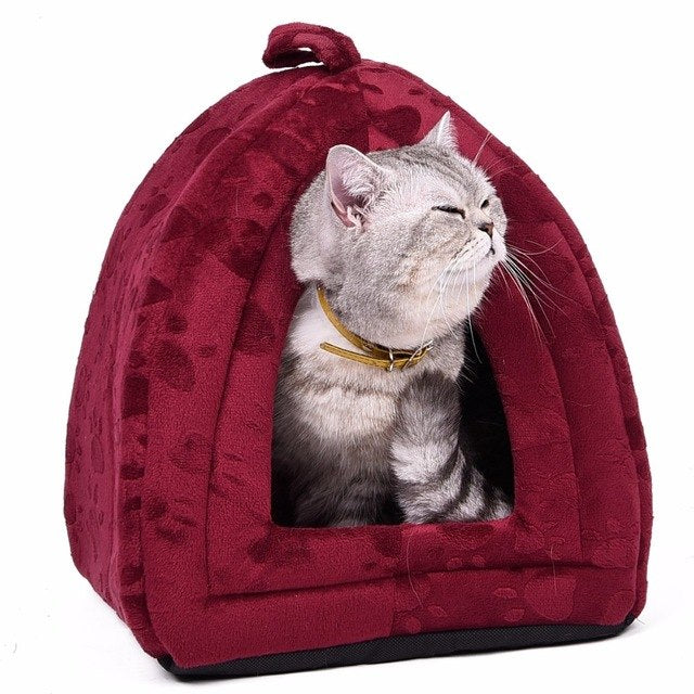Soft Velvety Cat / Dog Home