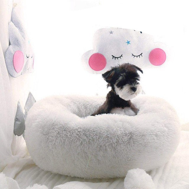 Puff Ball Pet Bed