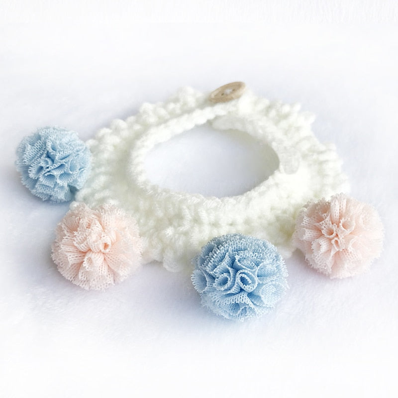 Handmade Cute Flowers Necklace / Jewelry Collar