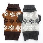 Dog/Cat/Pet Snowflakes Pattern Sweater