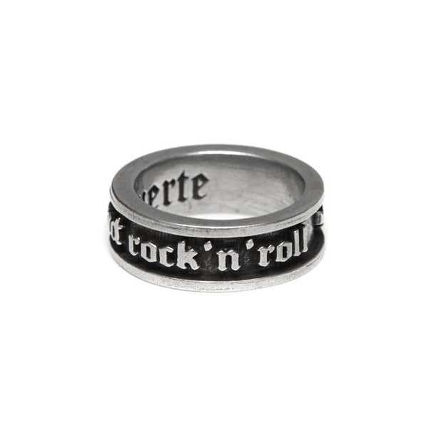 Bague homme ou femme anneau sex drugs and rock n roll