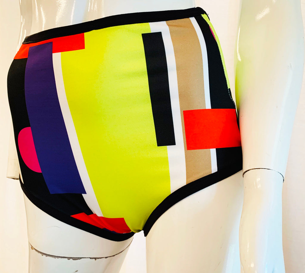 Bloques High Waist Swim Bottoms