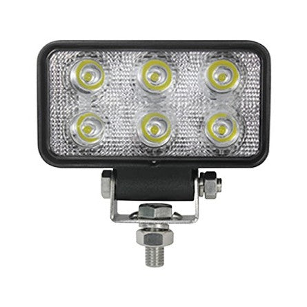 10-20004, SpeedDemon - LED - Work Light - 18w - Rectangle - 618S-FL