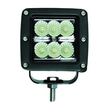 10-20042, SpeedDemon - LED - Work Light - 18w - 6PACK - Flood