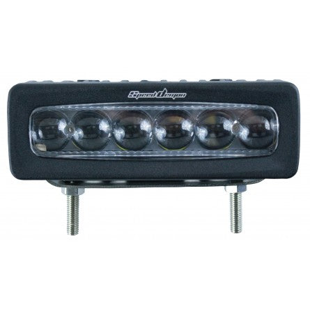 10-20062, SpeedDemon - LED - Driving Light - 42w - Super Straight 6 HD - Driving Beam