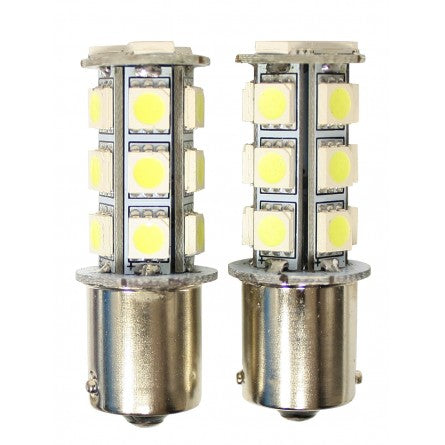 10-20123, SpeedDemon - LED - 1156A Replacement LED Bulb Pair - Amber