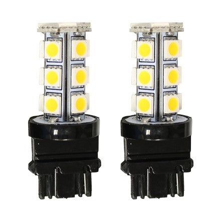 10-20131, SpeedDemon - LED - 3157A Replacement LED Bulb Pair - Amber