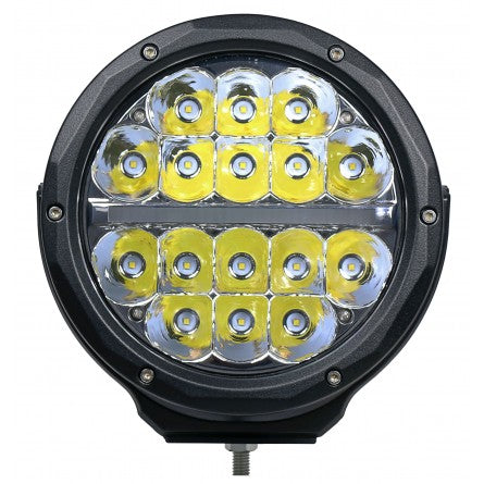 "10-20157, SpeedDemon - LED - 7"" Hi-Lux Round Driving Light - Spot"