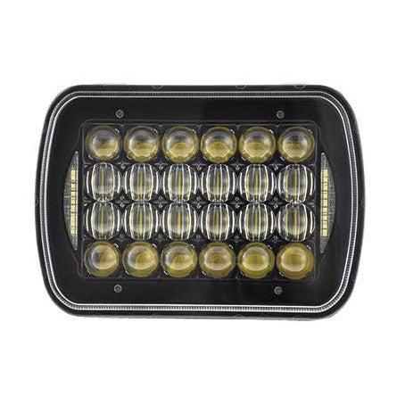 10-20172, SpeedDemon - LED - Driving Light - 72w - 5x7 Sealed Beam Replacement LED headlight - Black Ops