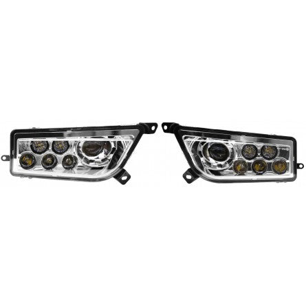 10-20178, SpeedDemon - LED - Driving Light - 45w - RZR1000 Replacement LED Headlights