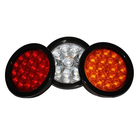 "10-20201, SpeedDemon - LED - Warning - DOT- 4"" Marker Light - Red"