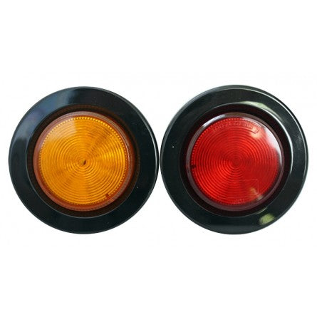 "10-20204, SpeedDemon - LED - Warning - DOT- 2"" Marker Light - Amber"