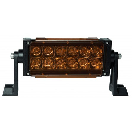 "10-30007, SpeedDemon - LED COVER FOR 6"" DUAL ROW BAR - Amber"