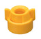 CP114444A-6-CE, YELLOW CAP W/ROUND HOLE