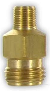 "CP1336, 1/8"" MPT X 11/16"" MALE NOZZLE THREAD ADAPTER"