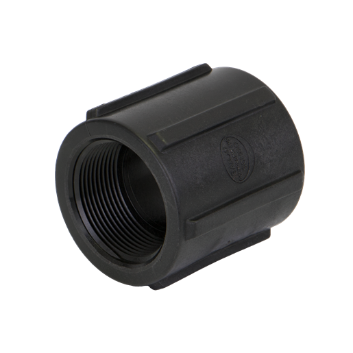 "CPLG150, 1-1/2"" POLY PIPE COUPLING"