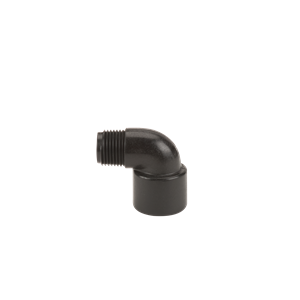 "SL038-90, 3/8""POLY STREET ELBOW-90 DEGRE"