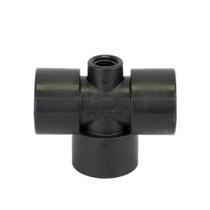 "TEG075, 3/4"" TEE WITH 1/4"" GAUGE PORT"