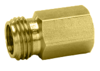 "CP1321, 1/4"" FPT X 11/16 MALE NOZZLE THREAD ADAPTER"
