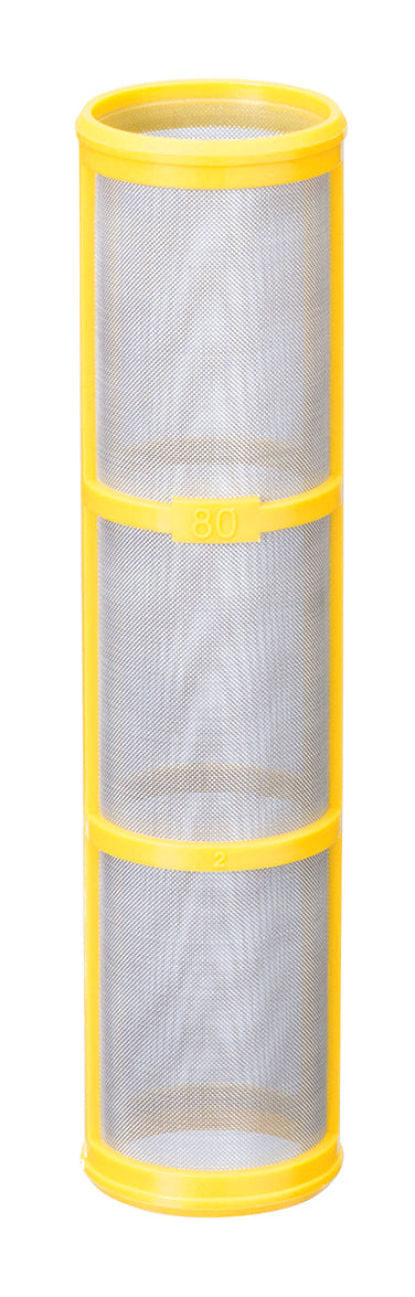 CP16903-5-SSPP, SCREEN 80 MESH NEW ISO COLOR IS YELLOW, USED TO BE RED