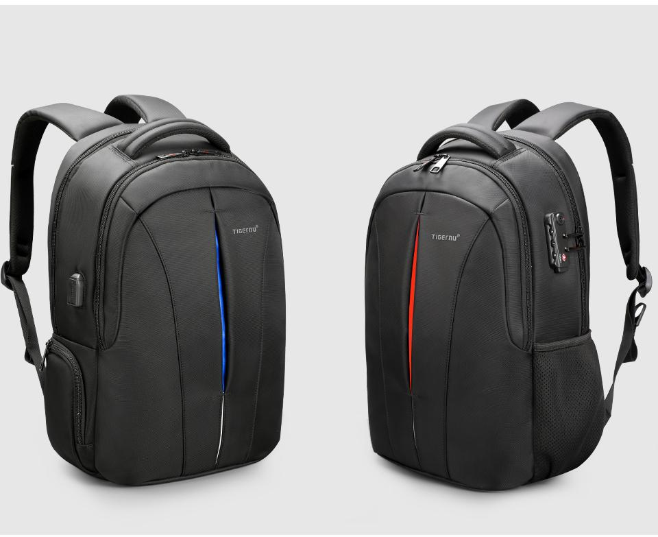 c35c41f71d ... Tigernu Waterproof 15.6inch Laptop Backpack USB Charger-Bag-Same Garage  ...