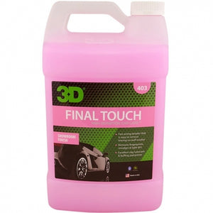 REMOVEDOR DE MARCAS Y MANCHAS DE AUTOMOVIL ( FINAL TOUCH ) , 1 GALON , MOD 403G01 , 3D - HNL INDUSTRIAL TOOLS