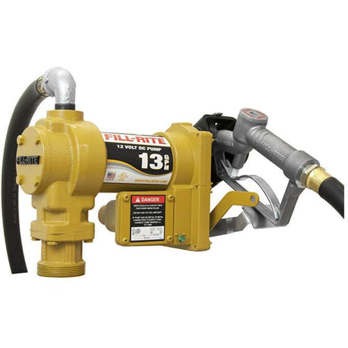 Bomba para combustible , 12 volt , 13 gpm , Motor 1/4 hp , MOD SD-1202 , FILLRITE - HNL INDUSTRIAL TOOLS
