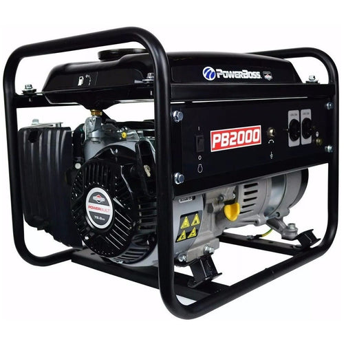 Generador portatil a gasolina POWERBOSS , Capacidad de combustible 5.6 ltr , 1.5 HP , MOD 030646 , BRIGGS&STRATTON - HNL INDUSTRIAL TOOLS