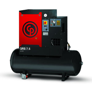 Compresor de Tornillo 7.5 HP 60 Gal. Secador Integrado QRS MOD. 4152010195 , CHICAGO PNEUMATIC