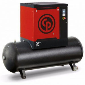 Compresor de Tornillo 5 HP 60 Gal. QRS MOD. 4152010169 , CHICAGO PNEUMATIC