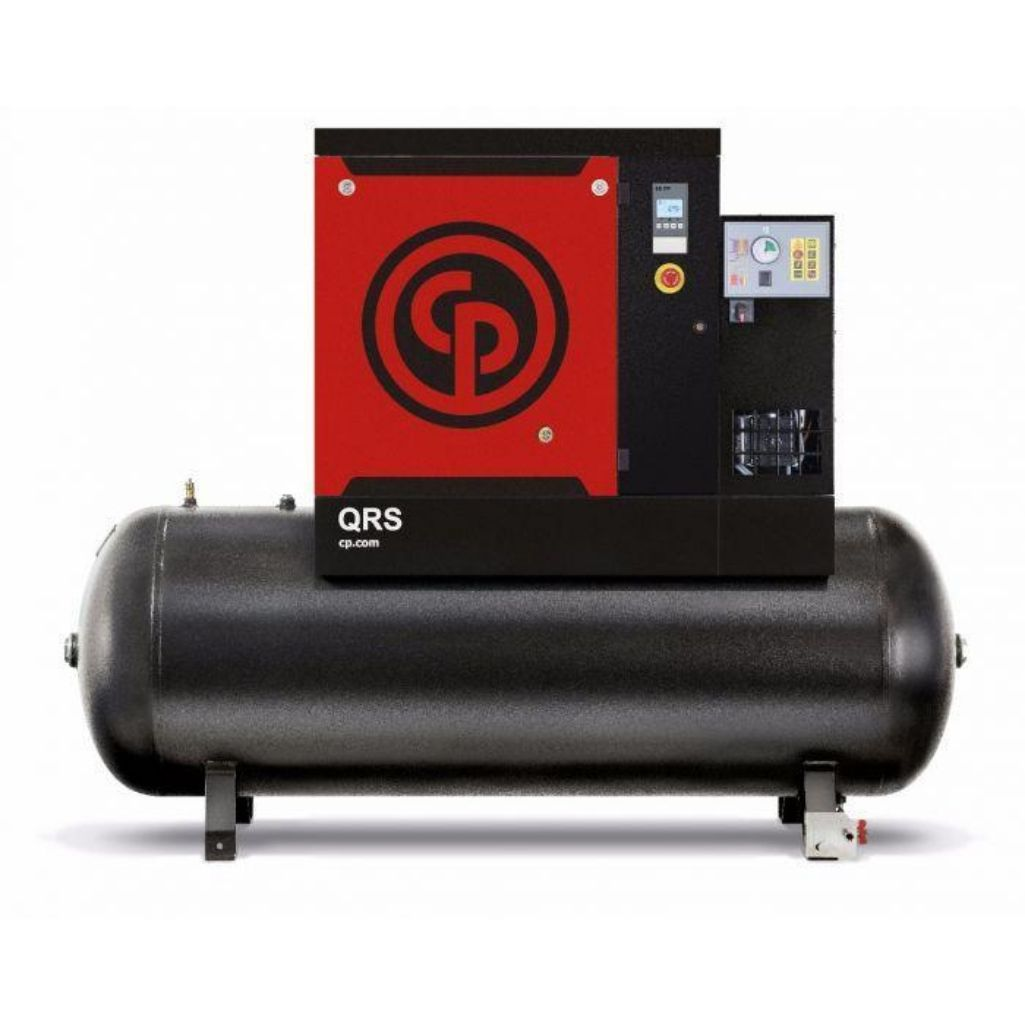 Compresor de Tornillo 20 HP 132 Gal. Secador Integrado QRSM MOD. 4152023190 , CHICAGO PNEUMATIC