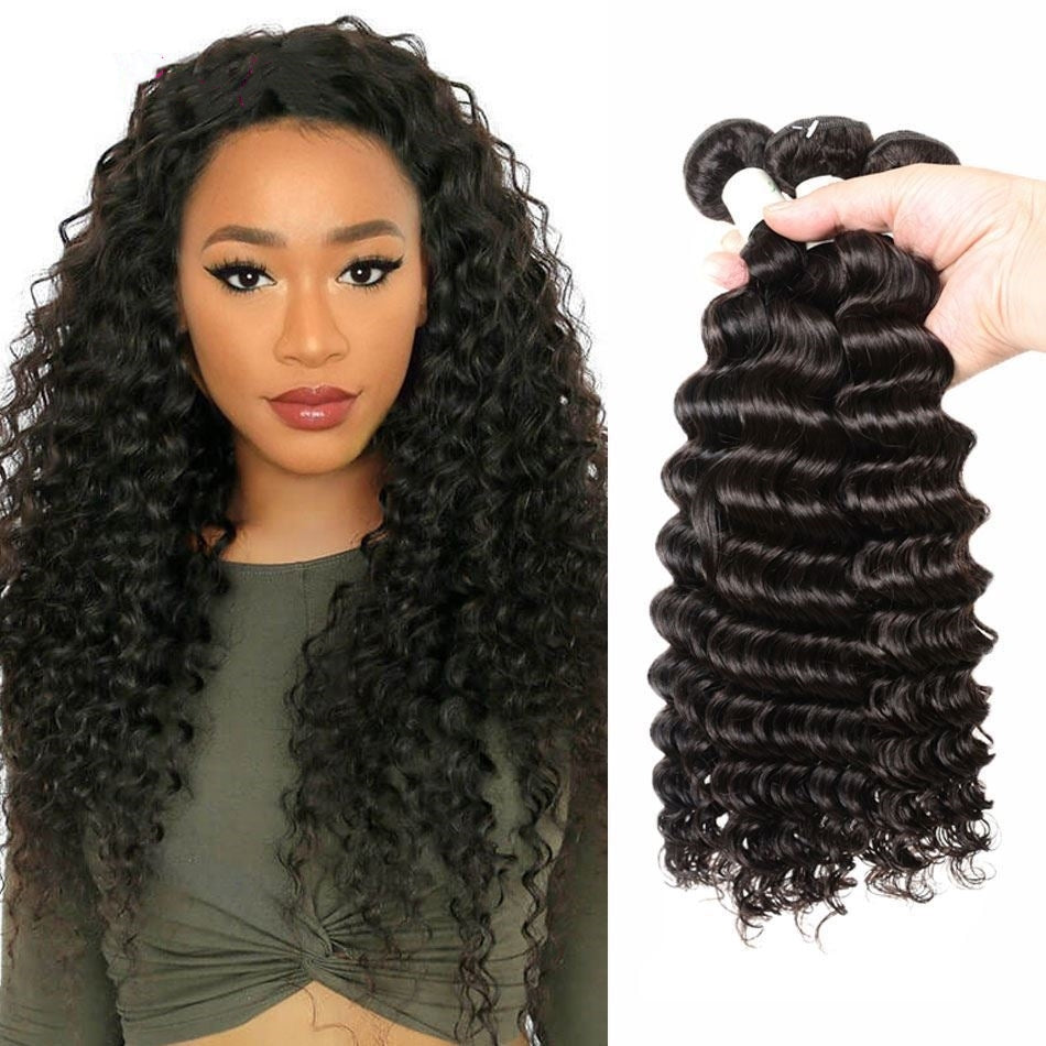 8A Virgin Hair Straight,Curly Wave,Body Wave,Curly Hair,3 Bundles deals Remy Virgin Hair Peerless Hair Bundles Human Hair Weaves