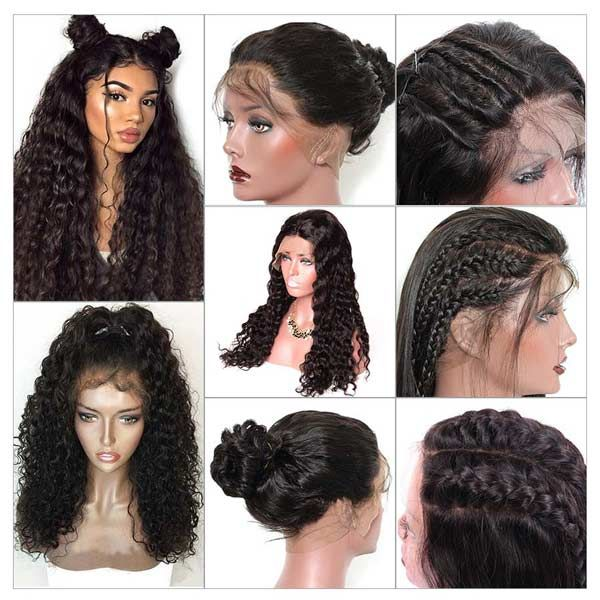 Lace Front Wigs Water Wave Hair Wigs