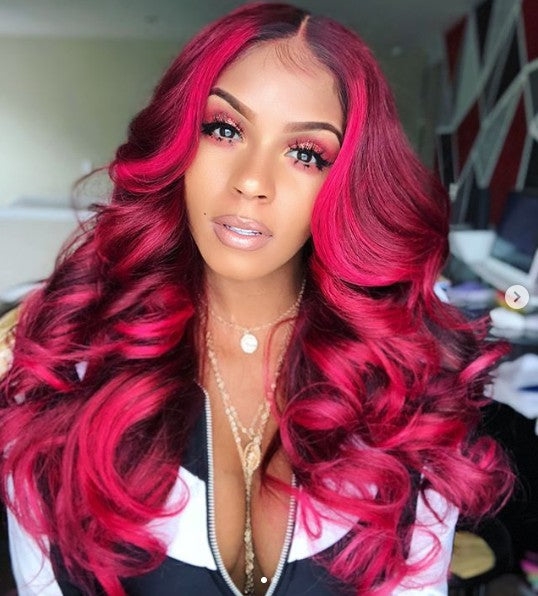 2019 New Red Body Wave Wigs