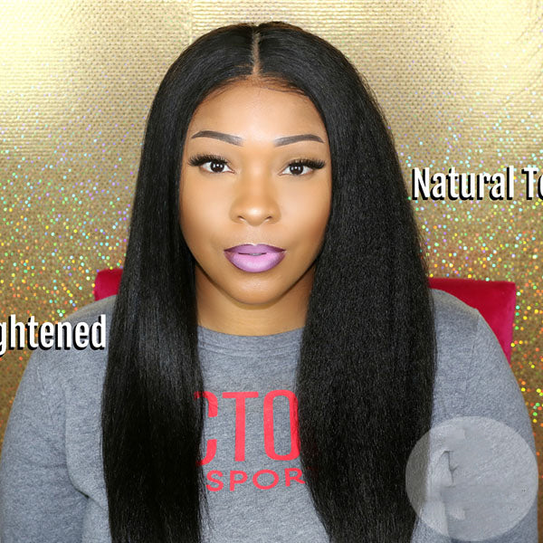 2019 New Kinky Straight Basic Cap Wigs Affordable Hair