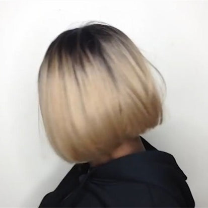 2019  New Basic Cap Frontal Lace Bob Wig