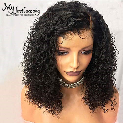 2019 New Curly Basic Cap Lace Front Wigs For Black Women Curly
