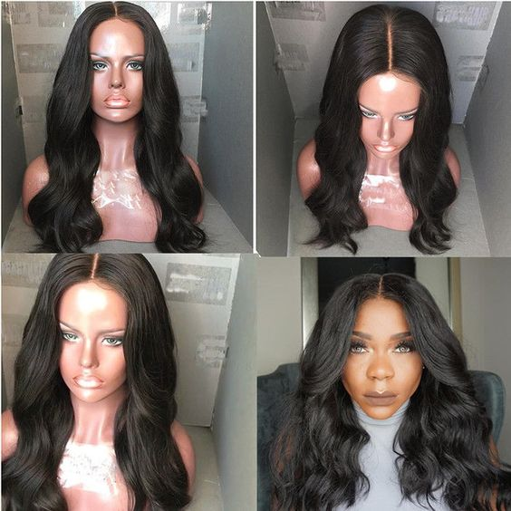 Lace Front Wigs For Black Women Deep Body Wave