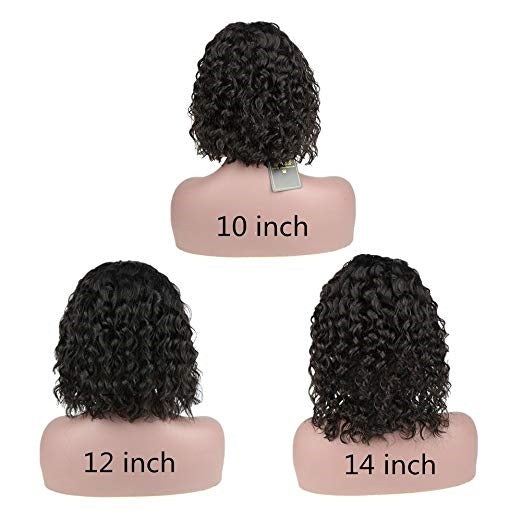 2019 New Glueless Lace Front Basic Cap Wigs Short Curly Bob Wigs